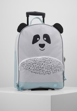 ABOUT FRIENDS PAU PANDA - Wheeled suitcase - grey