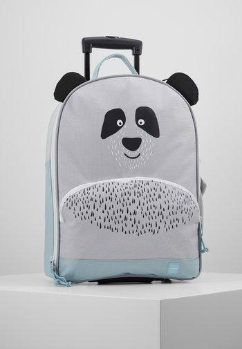 ABOUT FRIENDS PAU PANDA - Wheeled suitcase - grey