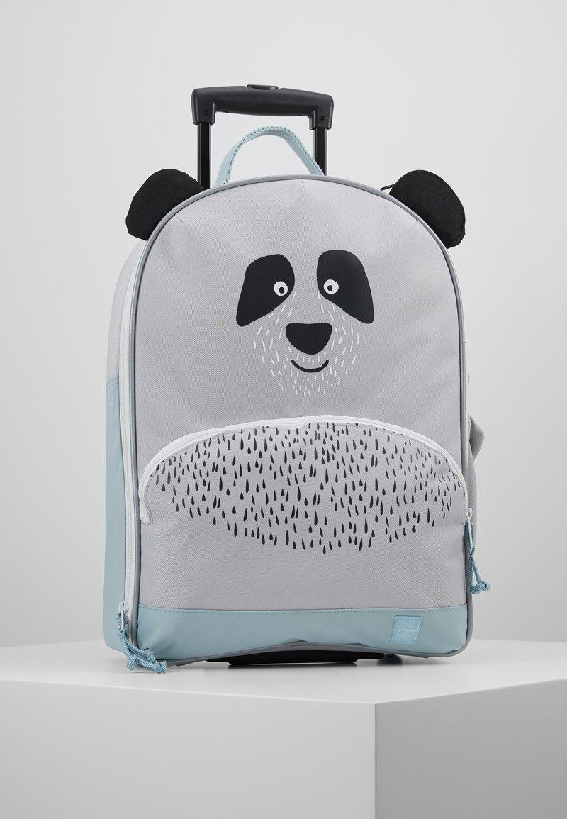 Lässig - ABOUT FRIENDS PAU PANDA - Wheeled suitcase - grey