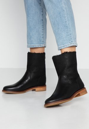 CLARKDALEAXHOT - Kotníkové boty - black