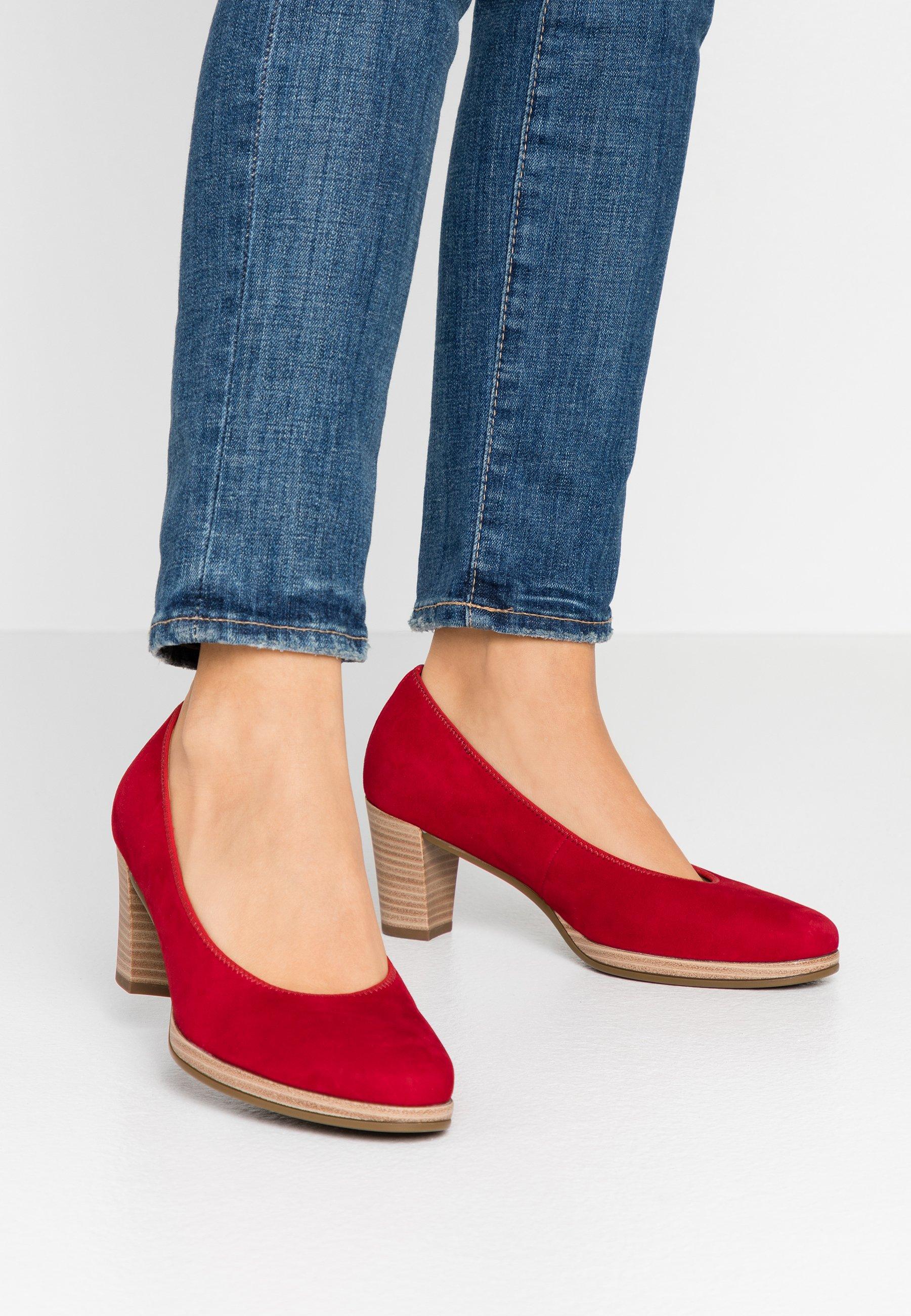 Gabor Escarpins - rubin - Chaussures à talons femme Limité
