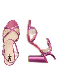 myMo at night - Sandalen met hoge hak - pink metallic - 4