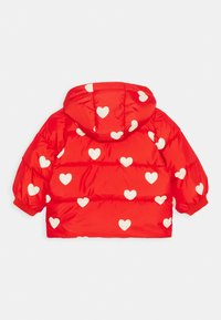 Mini Rodini - BABY HEARTS PICO PUFFER JACKET - Winter jacket - red - 1