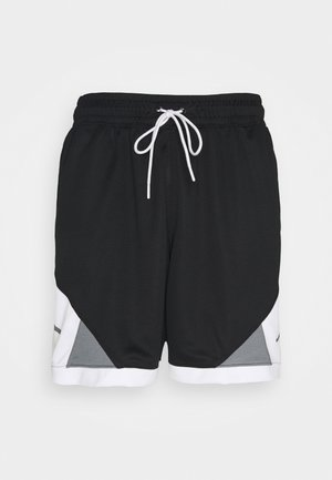 DRY AIR DIAMOND SHORT - Short de sport - black/white/smoke grey