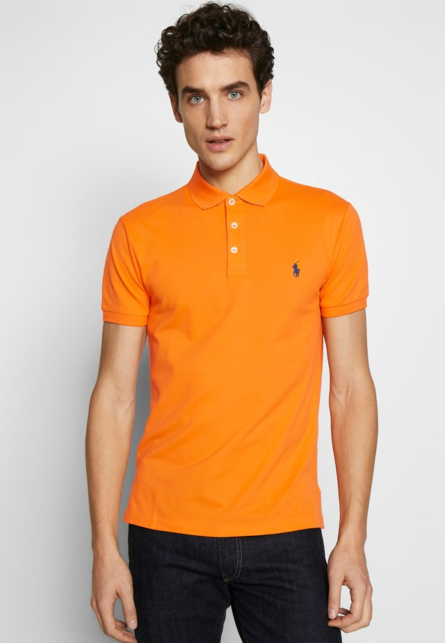 SLIM FIT MODEL - Polo shirt - thai orange