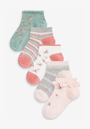 5 PACK  - Trainer socks - multi-coloured