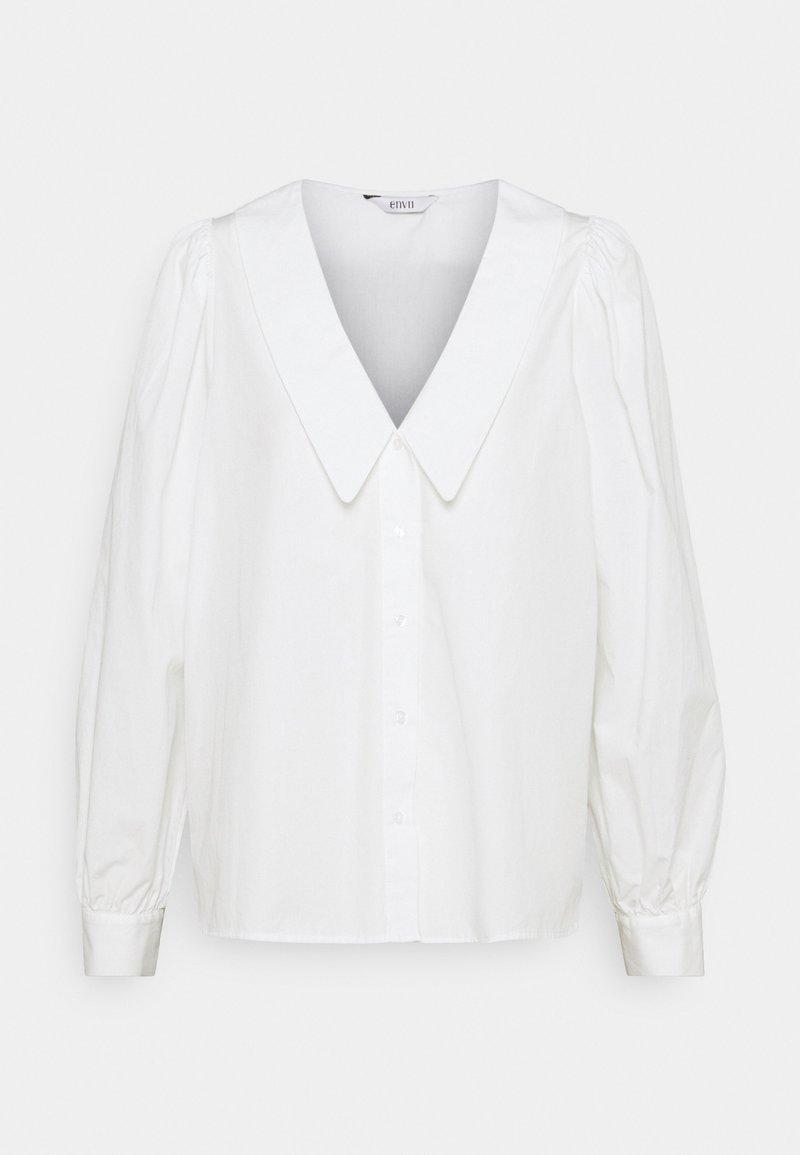 Envii - ENBAGGESEN  - Button-down blouse - white