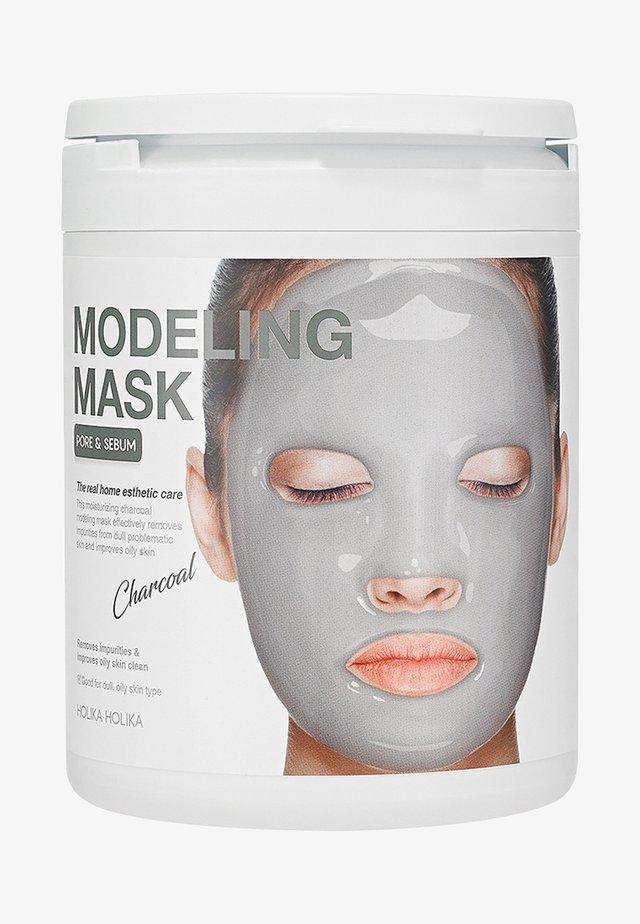MODELING MASK - CHARCOAL - Ansigtsmaske - -
