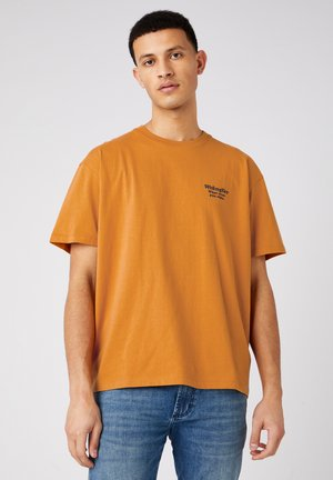 Print T-shirt - inca gold