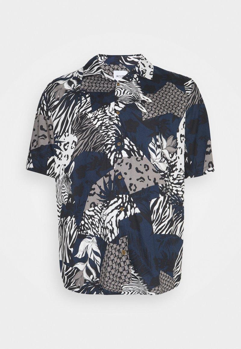 Only & Sons - ONSANIMAL LIFE - Shirt - dress blues
