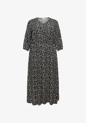CURVY PRINT - Maxi dress - black