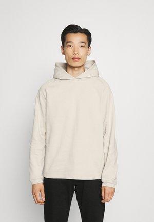 TECH HOODIE - Sweatshirt - moonstone
