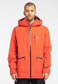Haglöfs - LUMI INSULATED JACKET - Ski jacket - habanero - 0