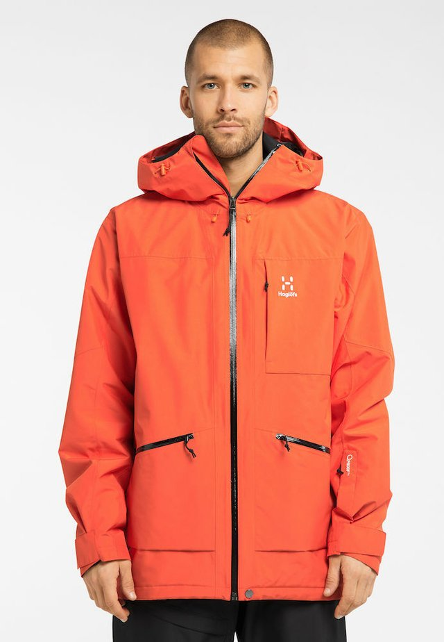 LUMI INSULATED JACKET - Ski jacket - habanero