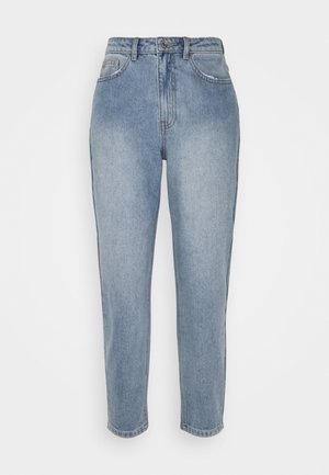 RIOT HIGHWAISTED CLEAN MOM - Straight leg jeans - blue