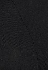 Even&Odd - Jednoduché triko - black - 6