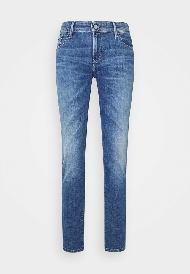 MONROE MID - Jeans baggy - blue
