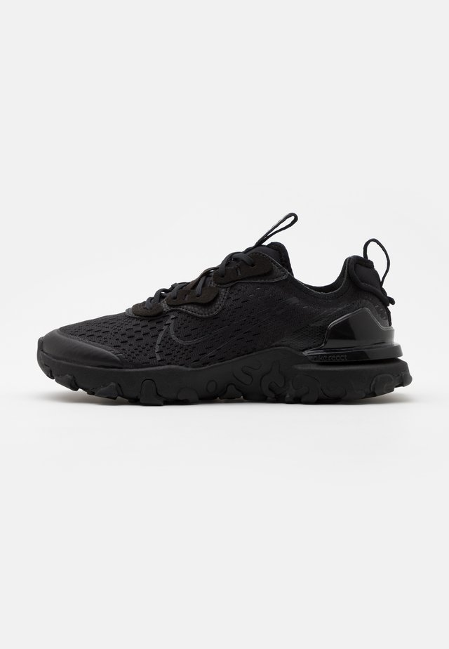 NIKE REACT VISION - Trainers - black/smoke grey