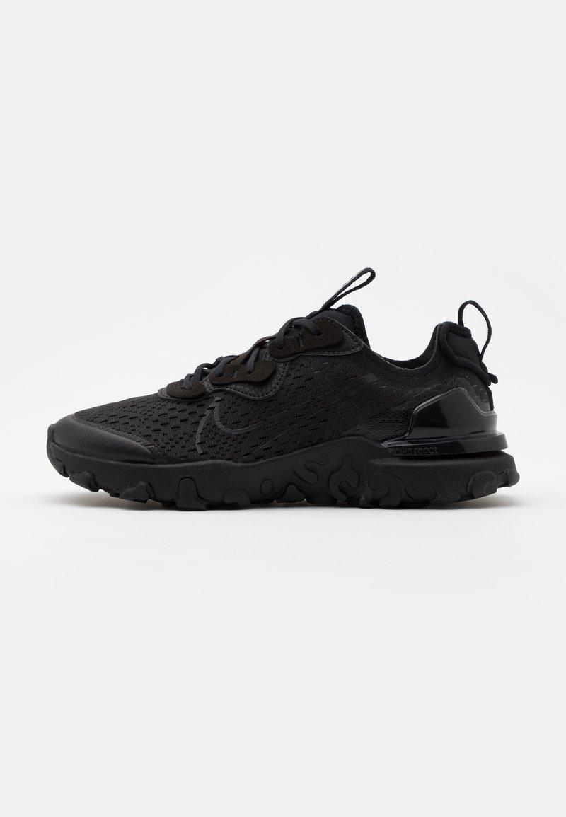 Nike Sportswear - REACT VISION - Baskets basses - black/smoke grey