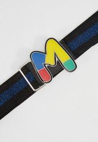 M Missoni - CINTURA ELASTICA NASTRO - Pásek - black/blue - 4