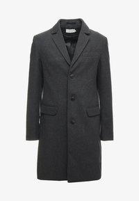 Classic coat - mottled grey