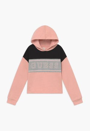 JUNIOR EXCLUSIVE ACTIVEWEAR - Bluza z kapturem - pink blush