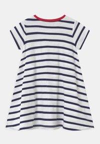Polo Ralph Lauren - SWING  - Žerzejové šaty - white/french navy - 1