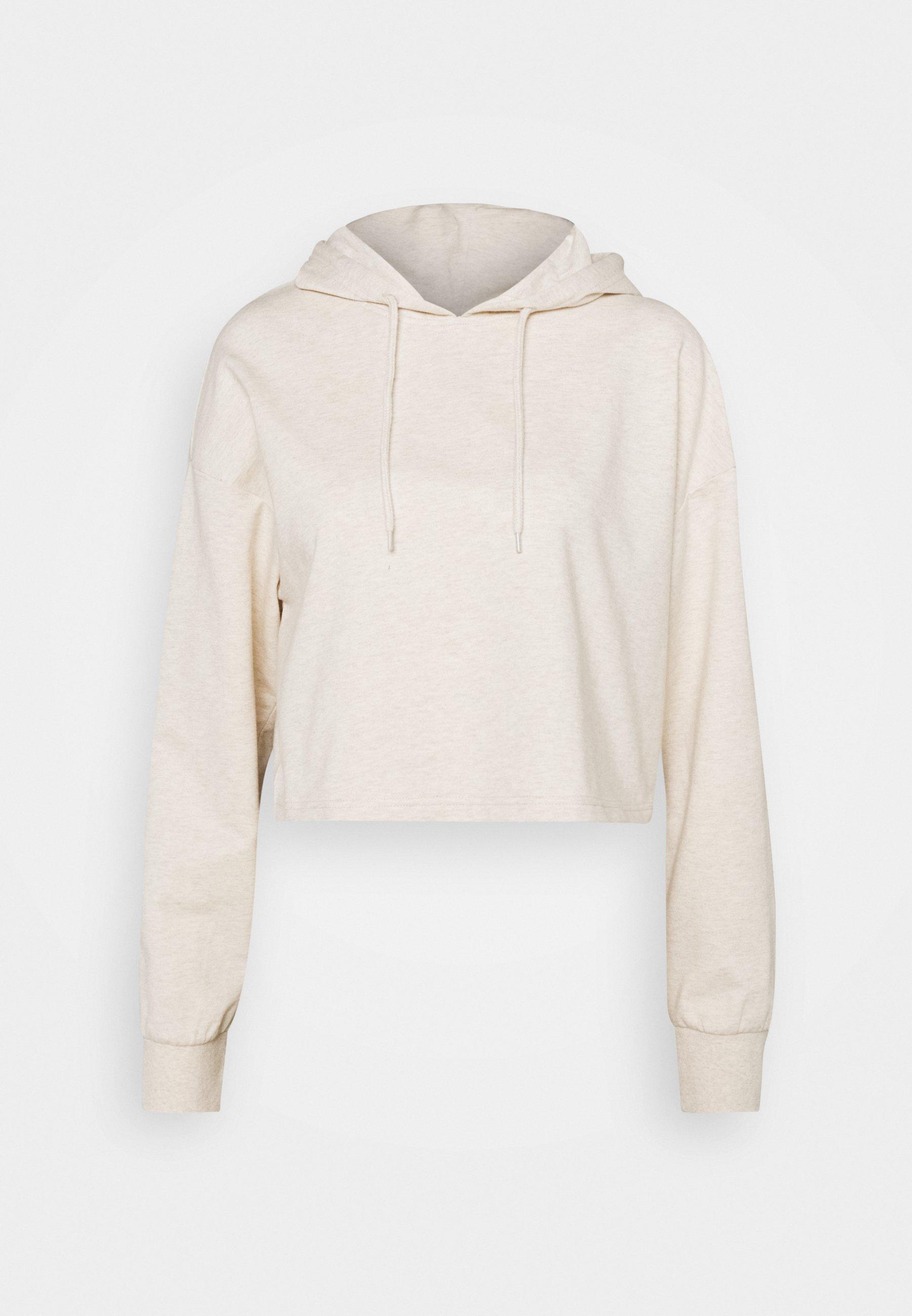 Women BASIC - Cropped oversized hoodie - Hoodie