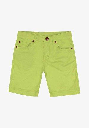 Denim shorts - verde claro