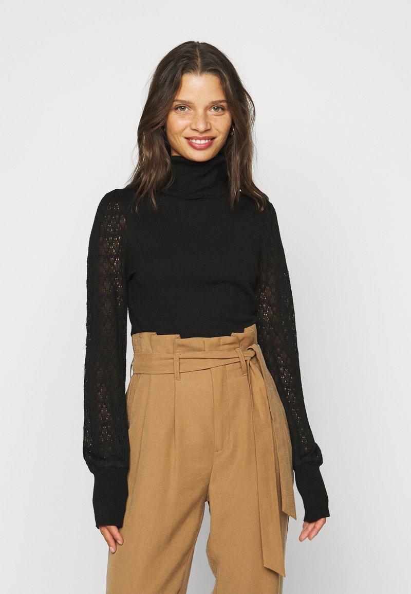 Fashion Union Petite - LAUREL - Jumper - black