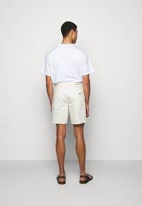 Emporio Armani - BERMUDA - Denim shorts - white - 2