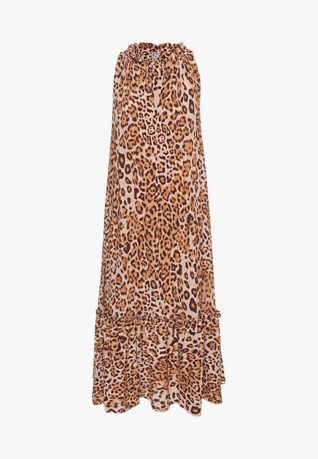 Korte jurk - tropical leo