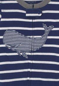 Carter's - WHALE FOOTLESS - Pyjamas - dark blue - 2