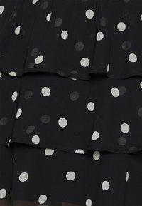 Gina Tricot - ALVA DRESS EXCLUSIVE - Day dress - black/white - 5
