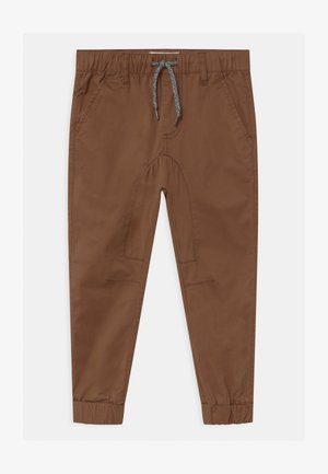 LOGAN CUFFED - Trousers - rusty brown