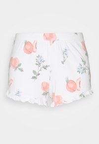Gilly Hicks - PRINTED COZY SHORT - Pyjama bottoms - white - 4