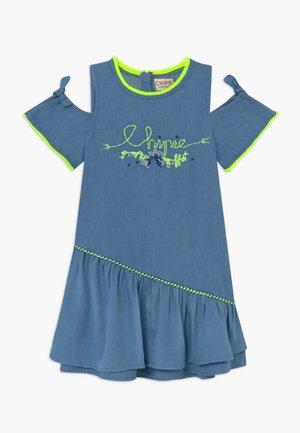 ROBE À MANCHES - Denimové šaty - indigo