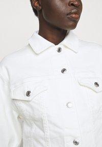 MICHAEL Michael Kors - FITTED JACKET - Denim jacket - white - 5