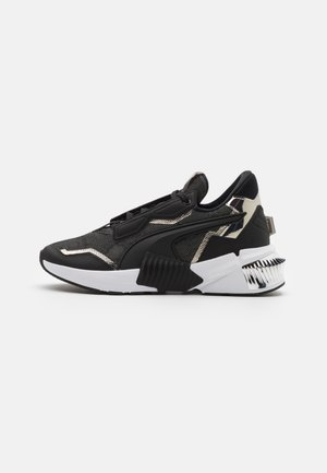 PROVOKE XT UNTMD UNISEX  - Sports shoes - black/metallic silver
