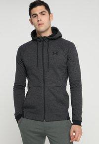 Under Armour - SPORTSTYLE FULL ZIP - Zip-up hoodie - black - 0
