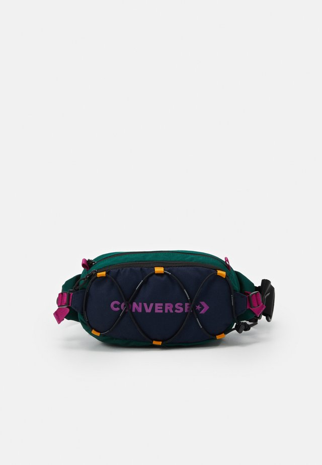 SWAP OUT SLING UNISEX - Sac banane - obsidian/midnight clover/cactus