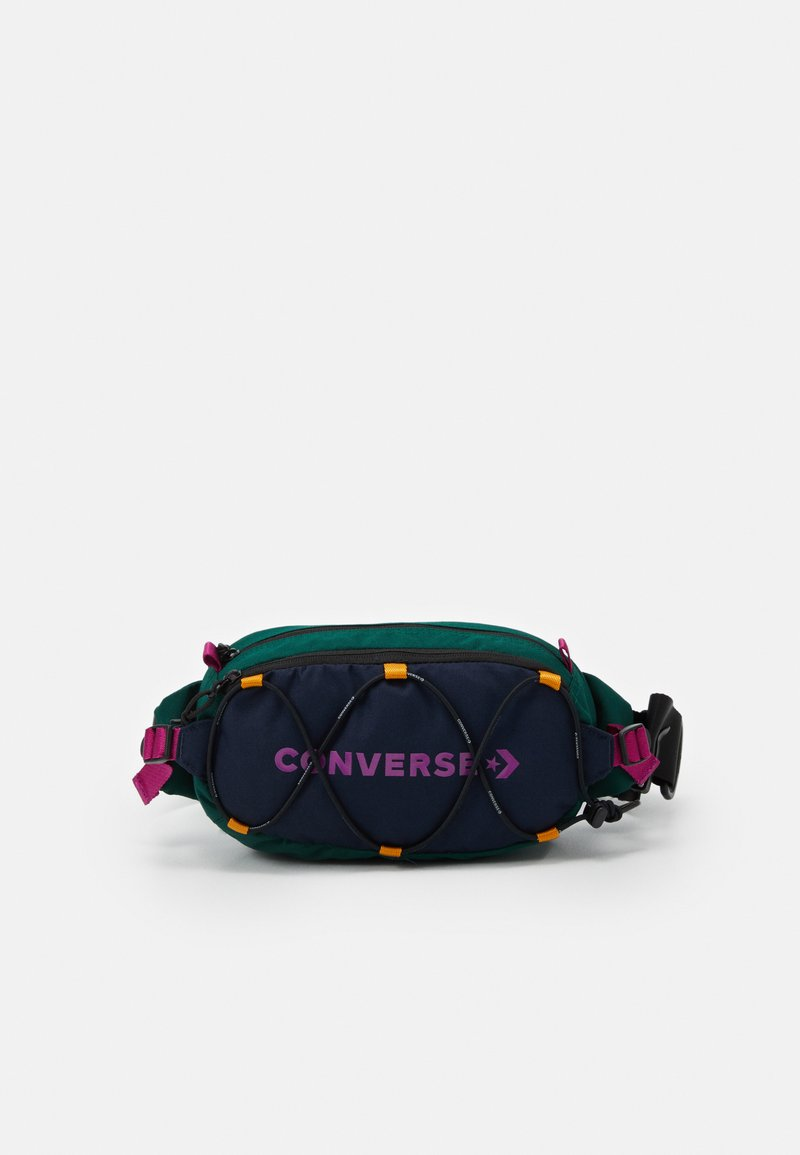 Converse - SWAP OUT SLING UNISEX - Sac banane - obsidian/midnight clover/cactus