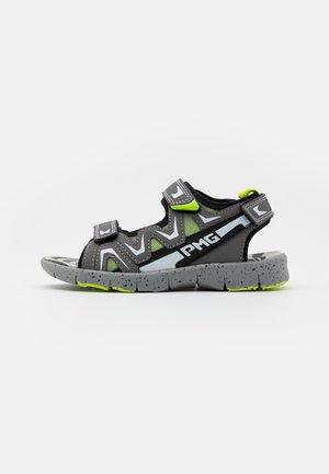 Sandalen - grigio/nero