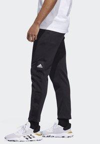 adidas Performance - CROSS-UP 365 TRACKSUIT BOTTOMS - Tracksuit bottoms - black - 3