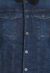 G-Star - 3301 SLIM - Veste en jean - denim medium aged - 6