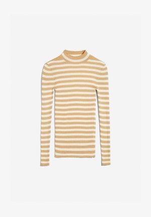 ALAANI STRIPED - Sweater - golden harvest-oatmilk