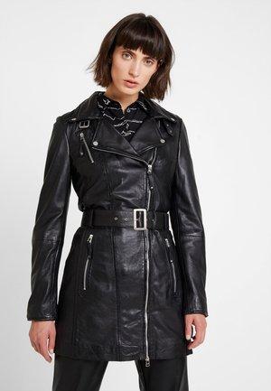 NYC - Leather jacket - black