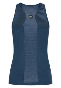 super.natural - MERINO TANKTOP W JONSER TANK - Sports shirt - denim - 1