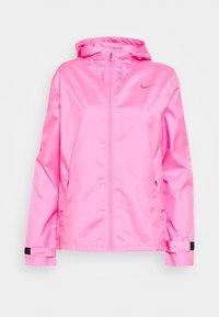 pink glow/firewood orange