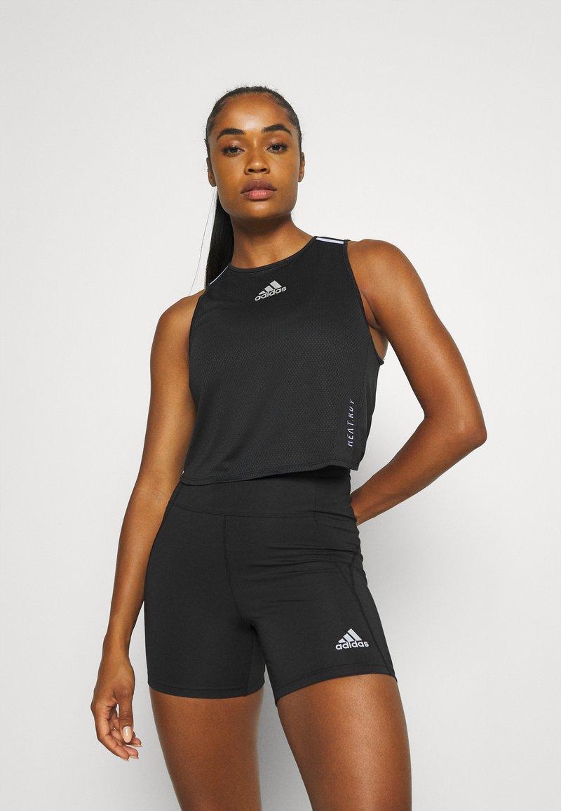 adidas Performance - HEAT.RDY TANK - Treningsskjorter - black